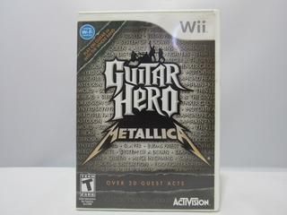 Guitar Hero : Metallica - Wii ¡fisico-usado!