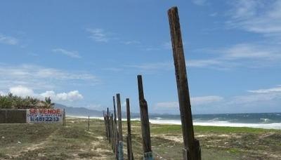 Acapulco Terreno Pie De La Cuesta Frente A Playa 76mt 3395