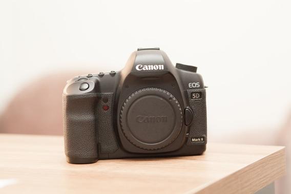 Maquina Canon Mark Ii + Bateria + Carregador