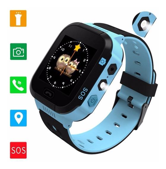 Reloj Smartwatches Gps Flash Night Light Touch Screen iPhone