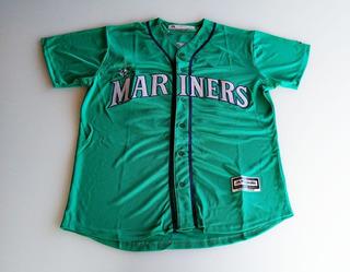 Camisa Mlb Baseball Marines Félix Hernandez New