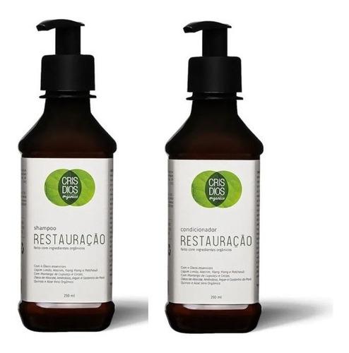 Cris Dios Organics - Restauração - Shampoo E Condicionador