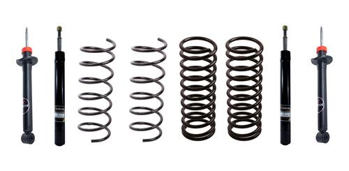 Amortiguador Y Espiral Kit X4 Volkswagen Gol Corven Plus