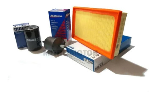 Kit Filtros Vw Gol Power 1.4 / 1.6 Aire-aceite-combustible
