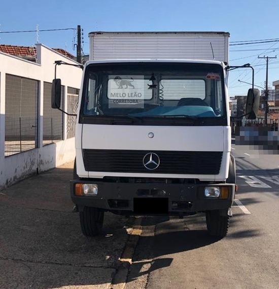 Mb 1214 C - 97/97 - Toco, Baú De Alumínio, Motor 4cc Novo