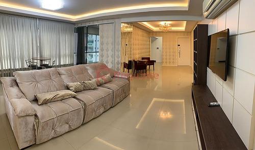 Ref.: 4139 - Apartamento A Venda Com 4 Suítes Mobiliado Em Itapema - 2710