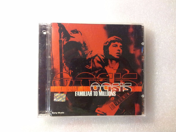 Oasis *** Familiar To Millions *** Cd Doble