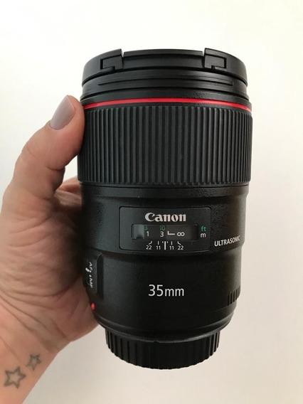 Lente Canon 35mm F/1.4
