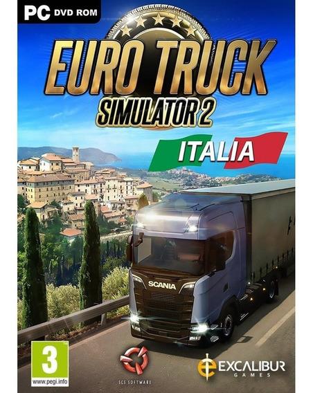 Dlc Italia P/ Euro Truck Simulator 2 Ativação Steam Original