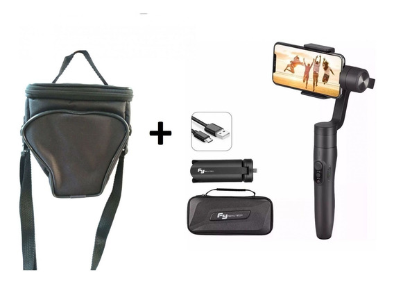 Kit Gimbal Estabilizador E Bolsa Câmera Câmera Fotografia