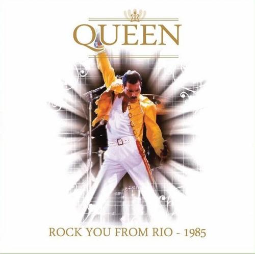 Queen - Rock You From Rio - Live 1985 - Vinilo Nuevo -