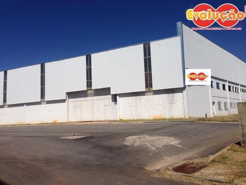 Imagem 1 de 10 de Galpão Industrial/ Comercial - Município De Cabreúva-sp - Ga0042