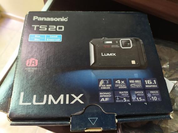 Câmera Panasonic Lumix Prova Dágua