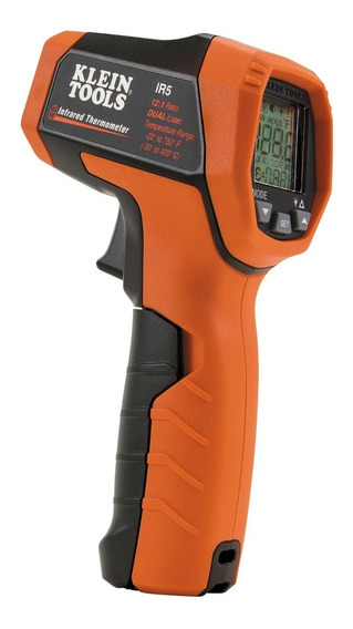 Termometro Infrarrojo De Doble Laser 12:1 Ir5 Klein Tools