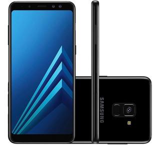 Samsung Galaxy A8 2018 A530f 64gb 4gb Ram 4g Preto Vitrine 2