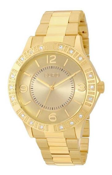 Relógio Euro Feminino Dourado Eu2035yks/4d