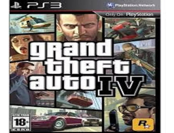 Grand Theft Auto Iv - Gta 4 Ps3 - Receba Hoje