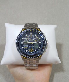 Relógio Citizen Blue Angels Skyhawk Eco Drive