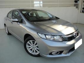 Honda Civic Lxr 2.0 Cinza 16v Flex 4p Aut. 2014