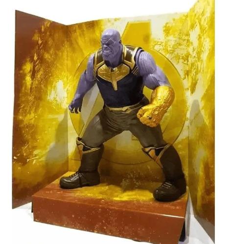 Boneco Marvel Thanos Os Vingadores Guerra Infinita Mimo 0564