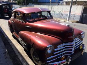 Chevrolet Sedanete 1947 Placa Preta