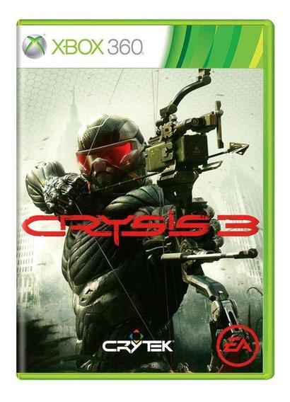 Crysis 3 Xbox 360 Mídia Física Pronta Entrega