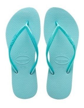 Chinelo Havaianas Slim Ice Blue - Legítima Oferta