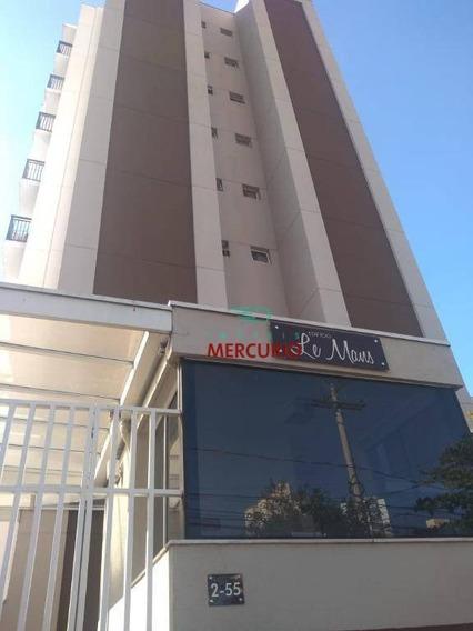 Apartamento Com 1 Dormitório À Venda, 42 M² Por R$ 180.000 - Centro - Bauru/sp - Ap3388