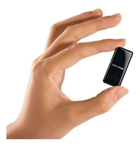 Imagen 1 de 10 de Adaptador Usb Mini Wifi Tplink Wn823n 300mbps Inalambric
