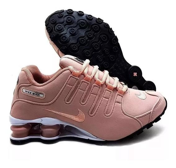 Tenis Nike Shox Nz 4 Molas Masculino E Feminino - Original - Pronta Entrega