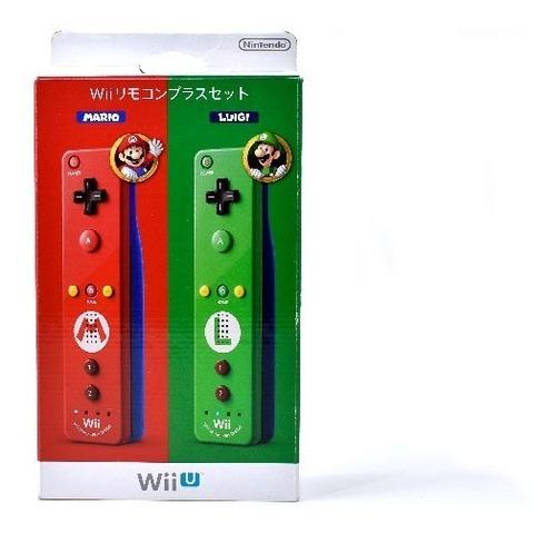 Imagen 1 de 8 de Control Wiimote Mario & Luigi Club Nintendo Para Wii U