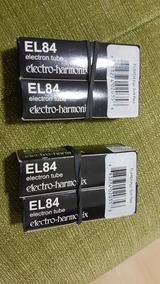 Válvulas Novas El84 Electro Harmonix 2 Pares Casados