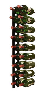 Mueble Estante Repisa Rack Cava Botellas Vino Metal Pared Vt