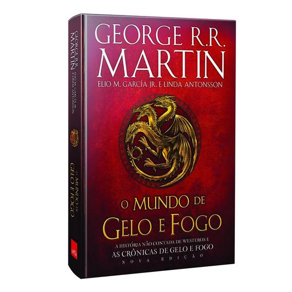 Livro Mundo De Gelo E Fogo - George R. R. Martin