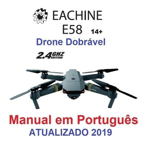 Manual Drone Eachine E58 Jy019 Em Português Por E-mail