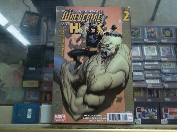 Ultimate Wolverine Vs Hulk #2 Comic Marvel Mexico