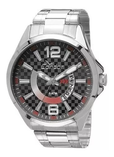 Relógio Masculino Condor Co2115vb/3b - Prata