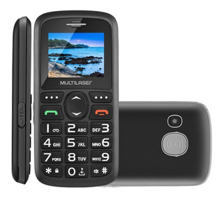 Telefone Celular P/ Idoso Vita 3 Multilaser P9048 Mp3 Radio