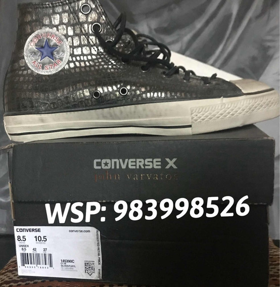 Zapatilla Converse By Jonh Varvatos Talla 8:5 Us S/. 399