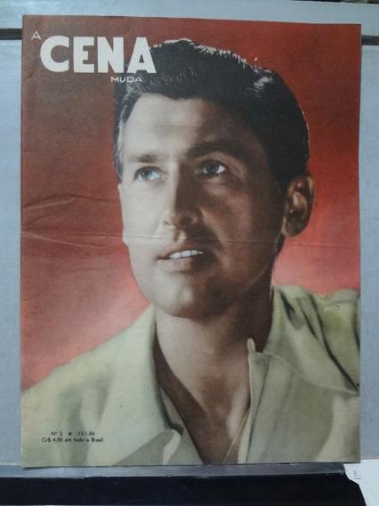 Revista A Cena Muda Nº 2 1954 Stewart Granger