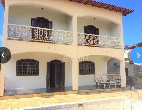 Casa Com 5 Dormitórios À Venda, 439 M² - Piratininga - Niterói/rj - Ca0742