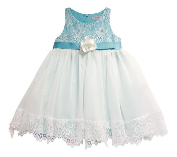 Vestido De Fiesta Con Encaje (50944)