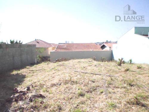 Terreno À Venda, 350 M² Por R$ 400.000,00 - Alto Taquaral - Campinas/sp - Te3154