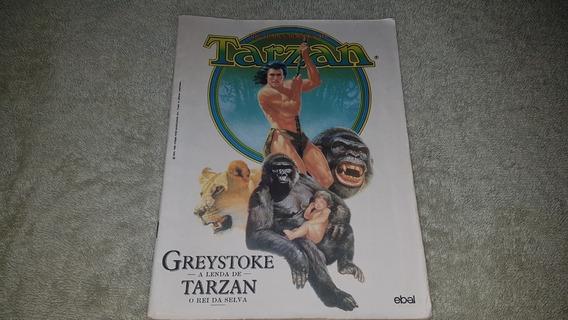 Hq Greystoke - A Lenda De Tarzan - Ebal 1984 F. Álbum Cores
