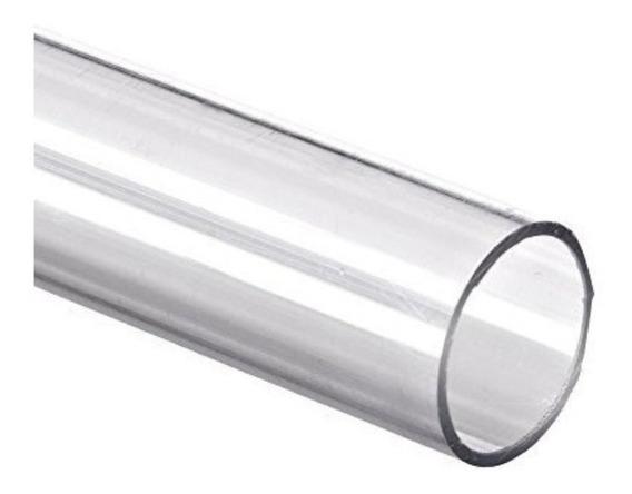 Manguera Industrial Transparente 1/2 Rollo 50 Mts.