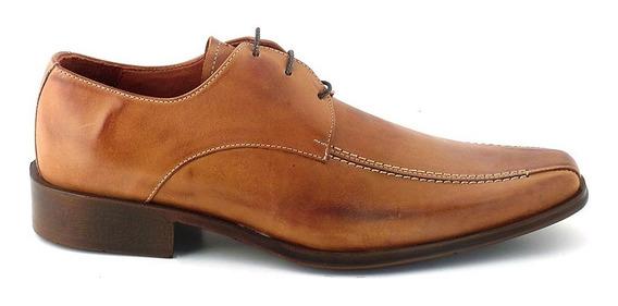 Zapato Hombre Acordonado Cuero Briganti - Hcac00726