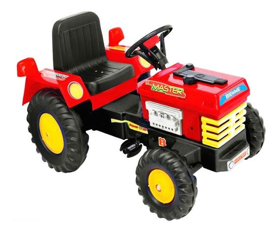 Tractor Auto Camion A Pedal Cadena Master Biemme 3 A 6 Años