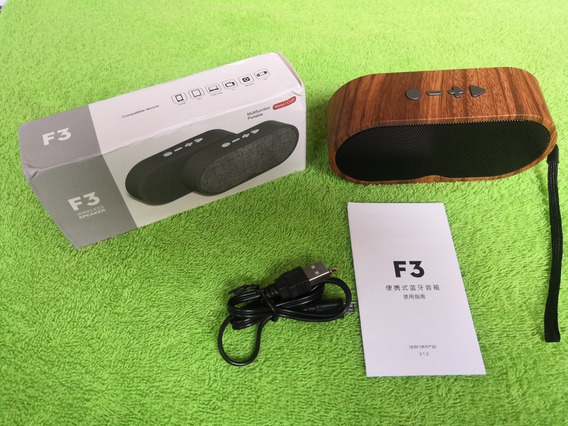Corneticas Bluetooth Portátiles F3 De Excelente Calidad