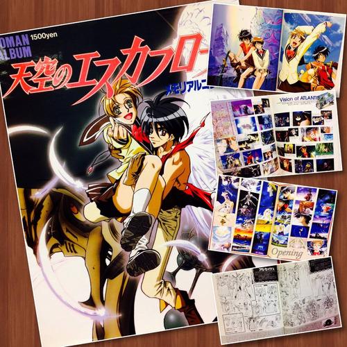 Imagen 1 de 3 de The Vision Of Escaflowne Roman Album Gastovic Anime Store