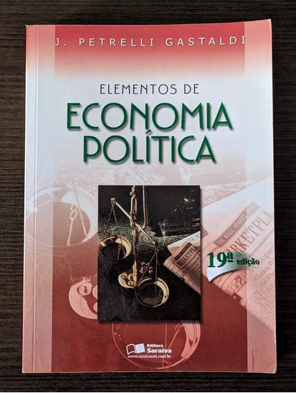 Elementos De Econo. Política - 19° Edição - Petrelli Gastald